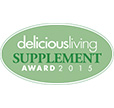 Delicious Living Supplement Award 2015
