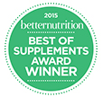2015 Best of Supplements Award
