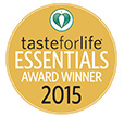 Taste for Life magazine's 2015 Essentials Award